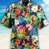 Alpaca Tropical Hawaiian Shirt