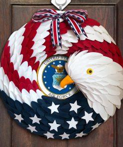 American Eagle Wreath Handmade With Custom Logo 3