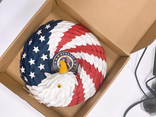American Eagle Wreath Handmade With Custom Logo New 2