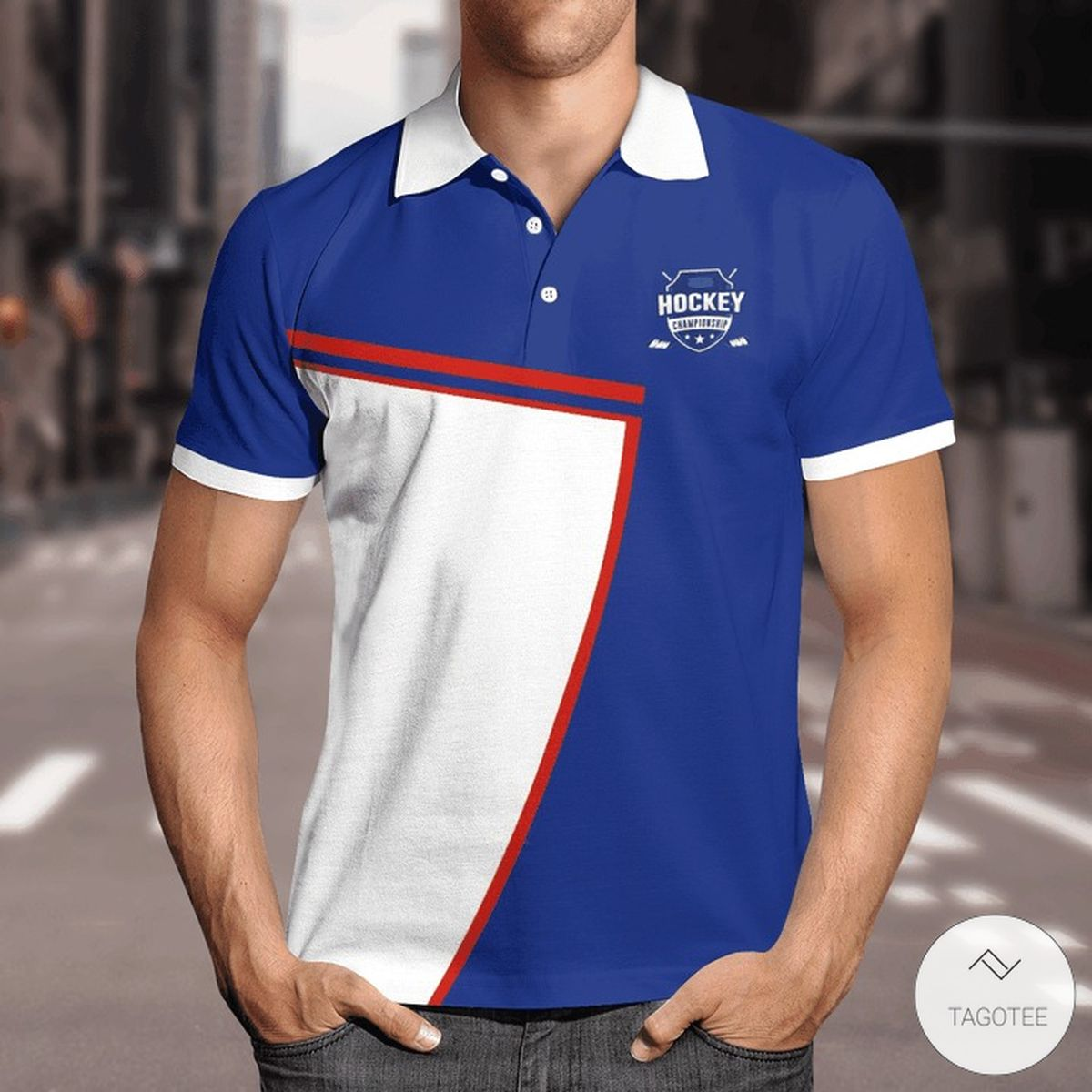 And Then God Said Let There Be Sexy People So He Made Hockey Player Polo Shirt