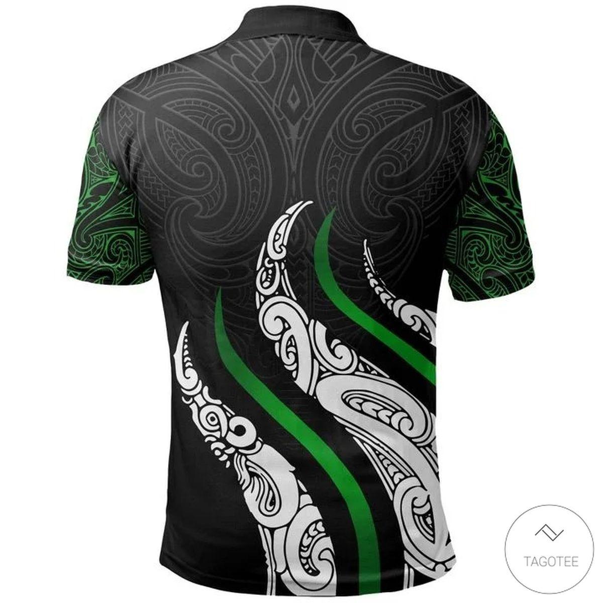 Aotearoa Koru New Zealand Polo Shirtz