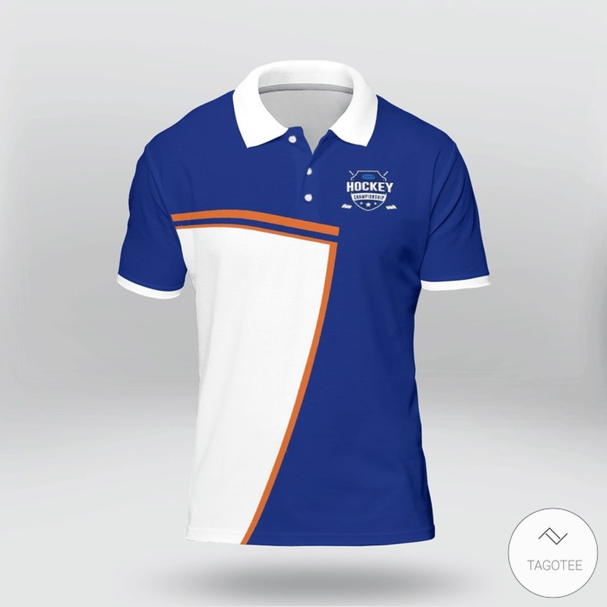 As Far Back As I Can Remember I Always Want To Be Hockey Player Polo Shirt z