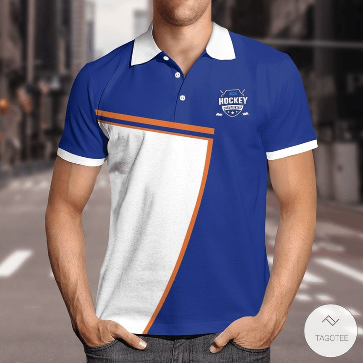 As Far Back As I Can Remember I Always Want To Be Hockey Player Polo Shirt