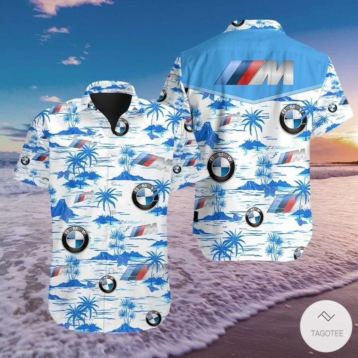 Very Good Quality BMW Hawaiian Shirt