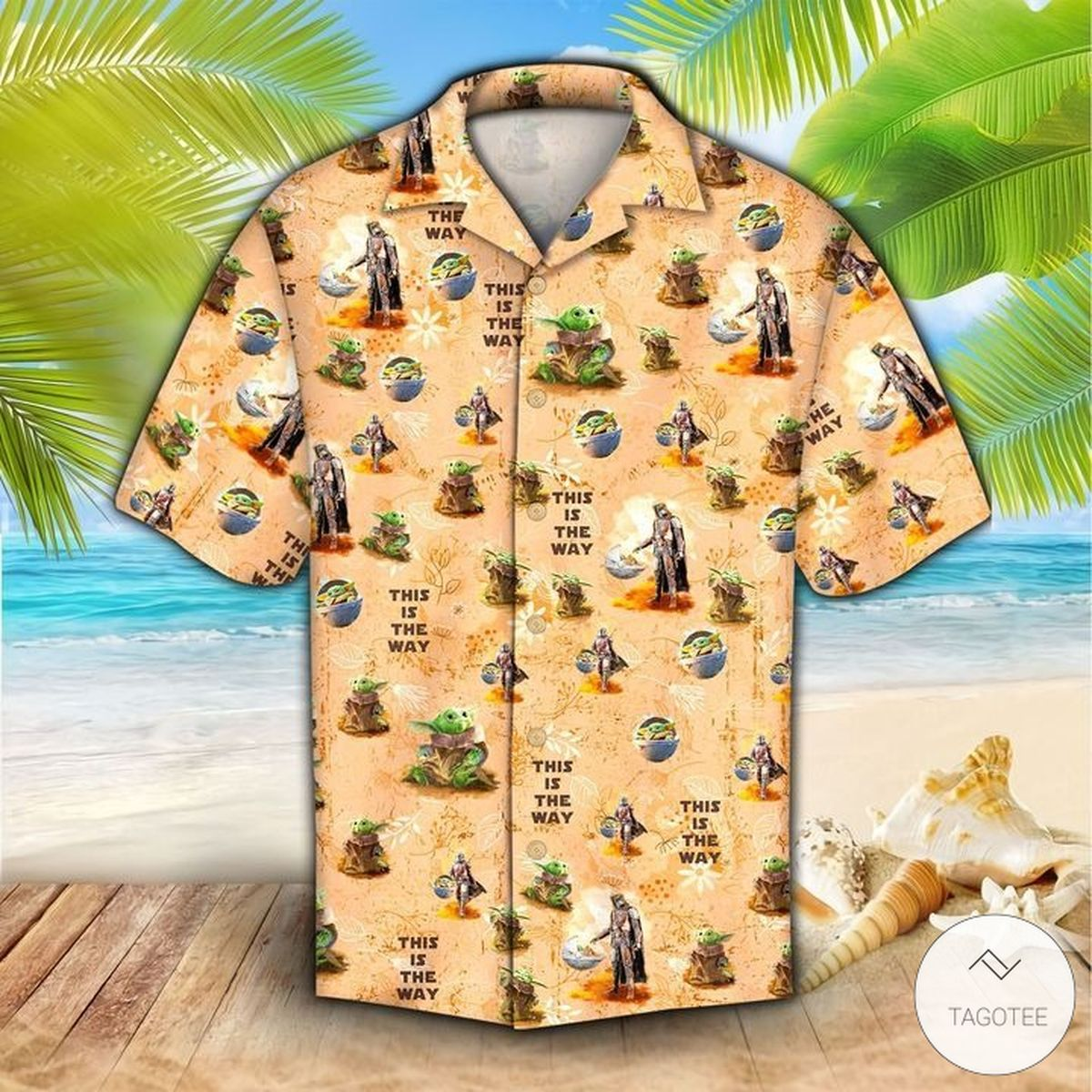 New Baby Yoda This Is The Way The Mandalorian Hawaiian Shirt