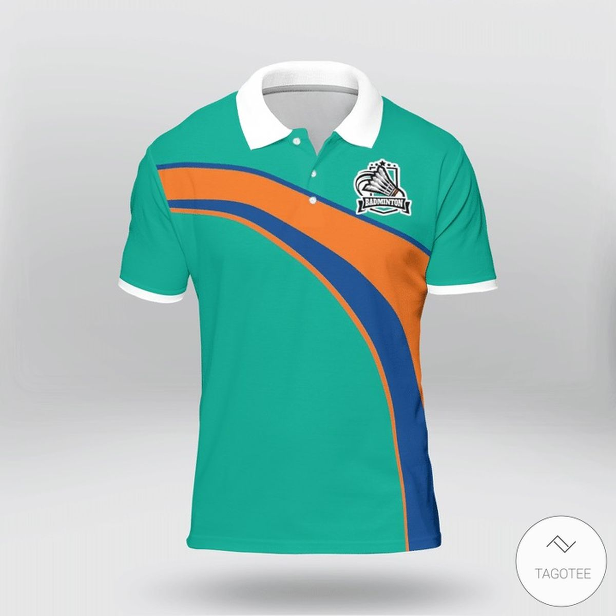 Badminton Ninja Polo Shirt z