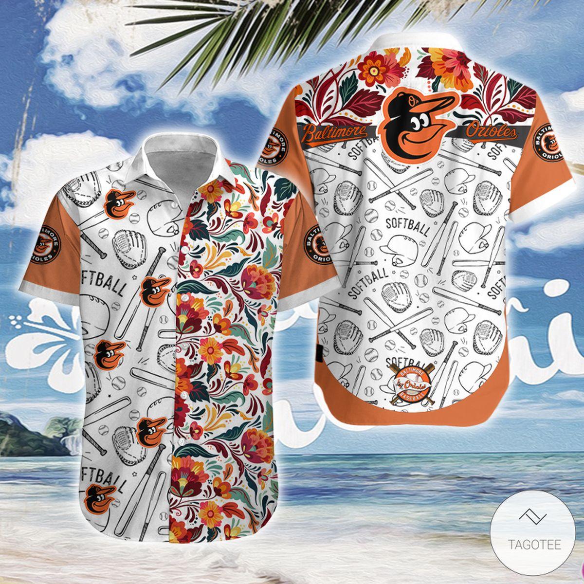 Baltimore Orioles Hawaiian Shirt