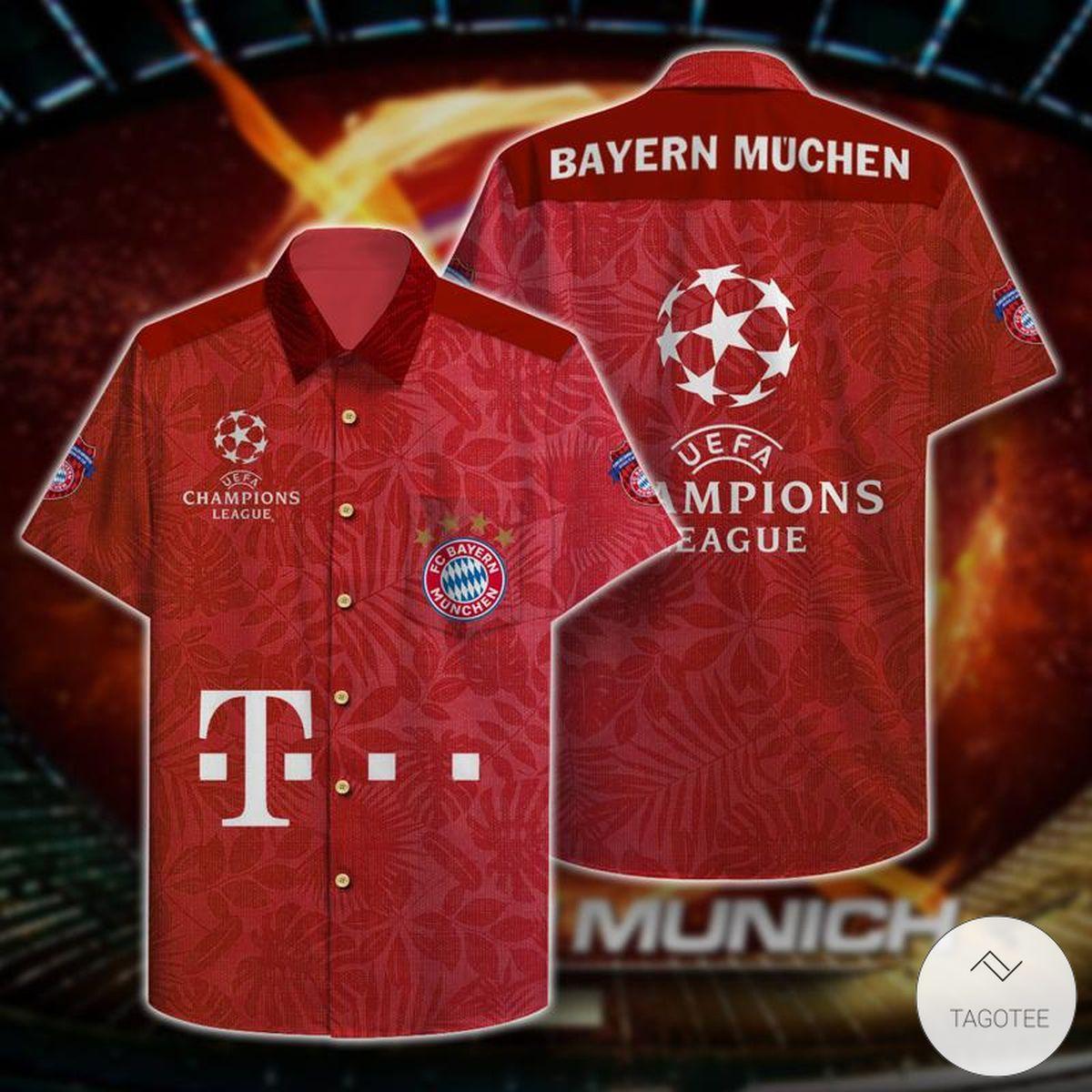 Bayern Munich Champions Hawaiian Shirt