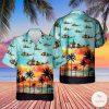 Belgian Air Force Westland Sea King Mk48 Hawaiian Shirt, Beach Shorts