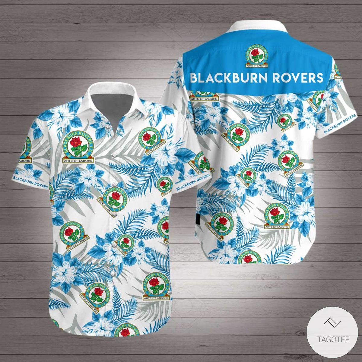 Blackburn Rovers Hawaiian Shirt