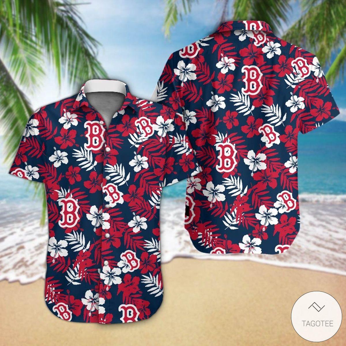 Boston Red Sox Hawaiian Shirt