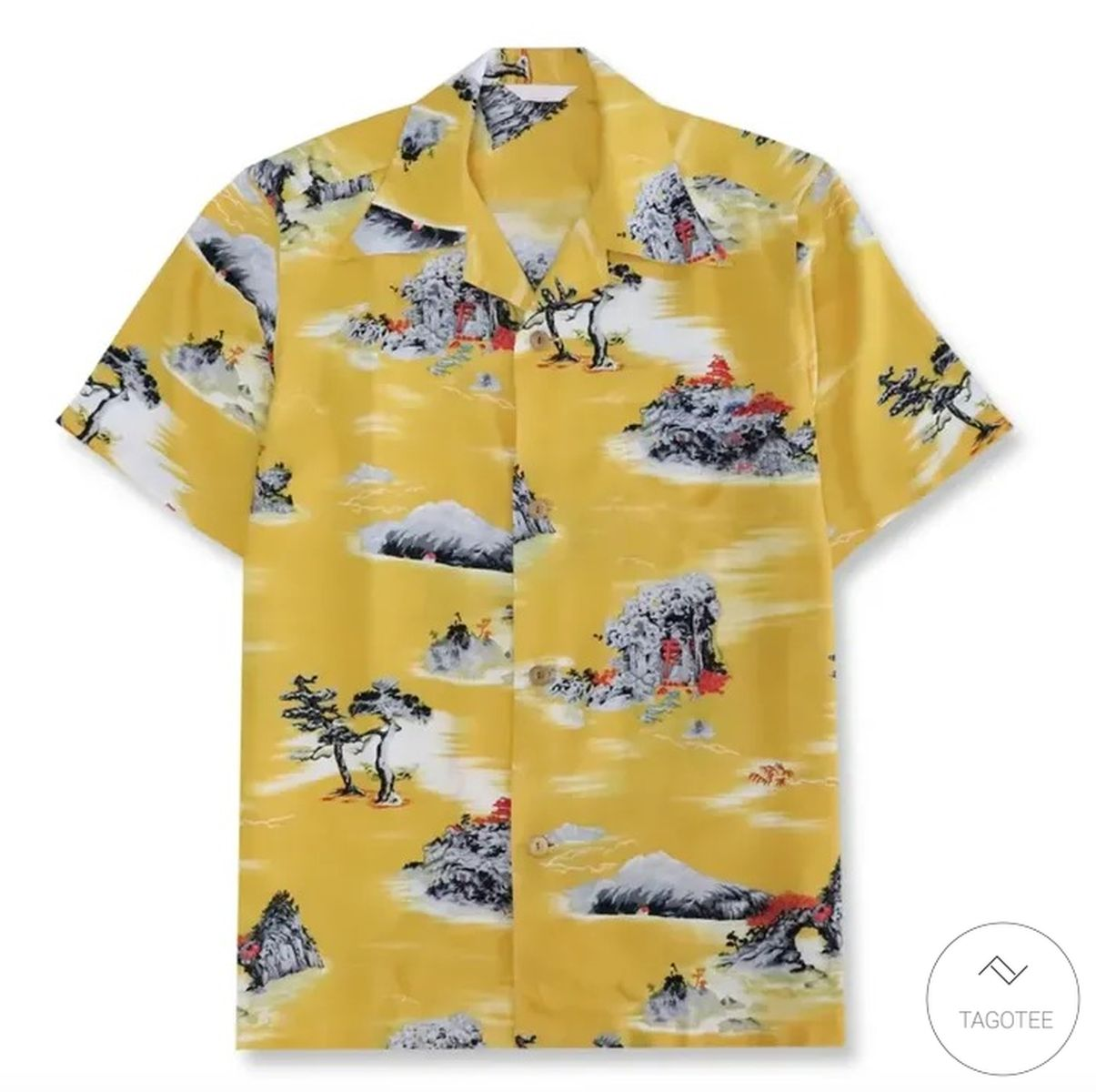 Brad Pitt Cliff Booth Once Upon a Time in Hollywood Hawaiian Shirt