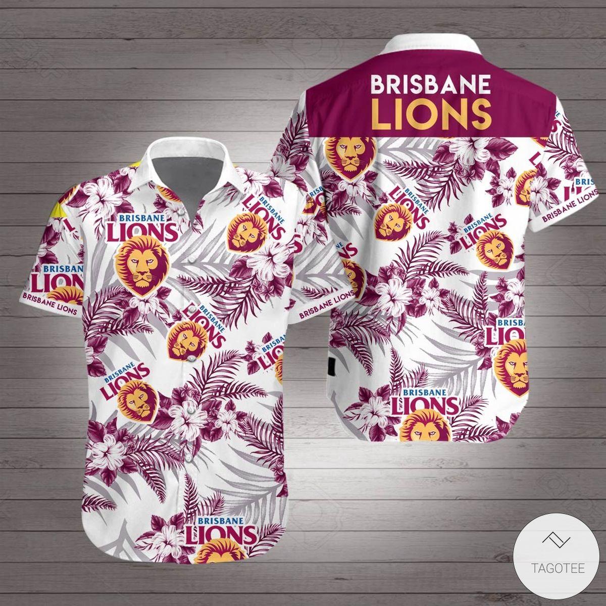 Brisbane Lions Hawaiian Shirt