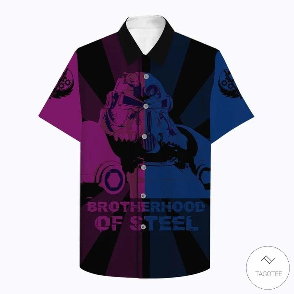 Brotherhood Of Steel Hawaiian Shirt