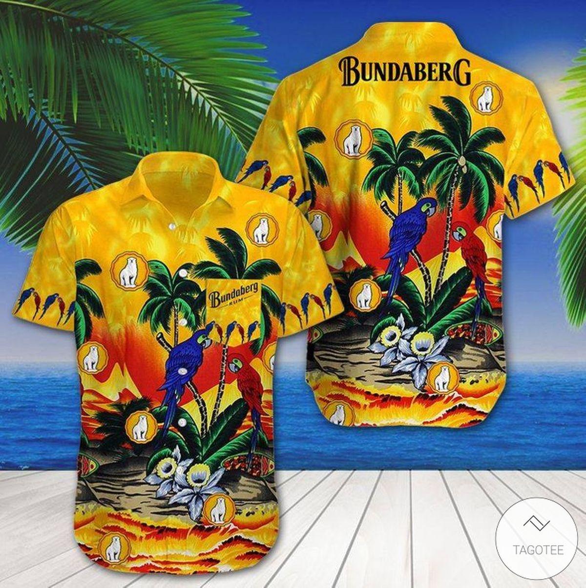 Bundaberg Brewed Drinks Hawaiian Shirt