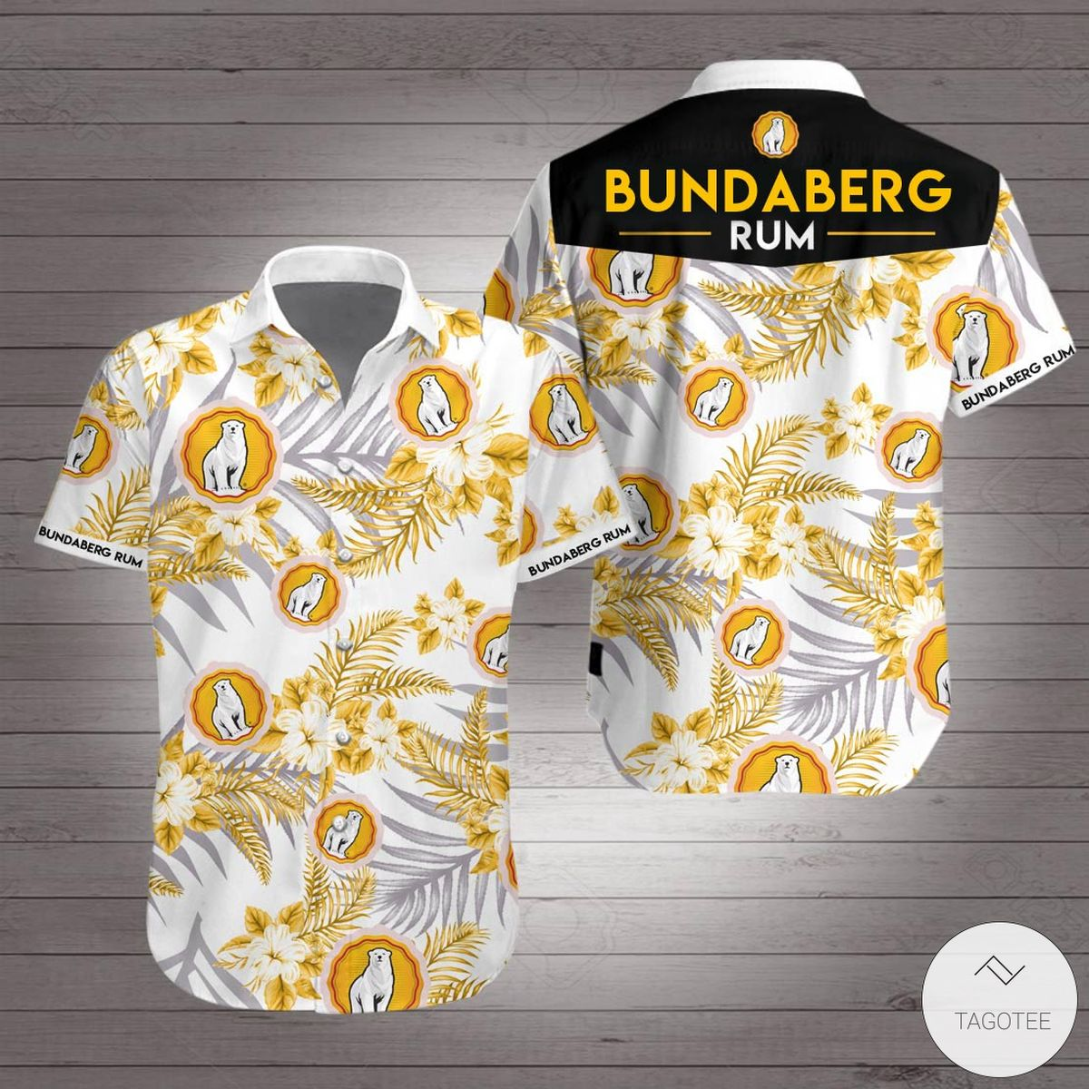 Bundaberg Rum Hawaiian Shirt