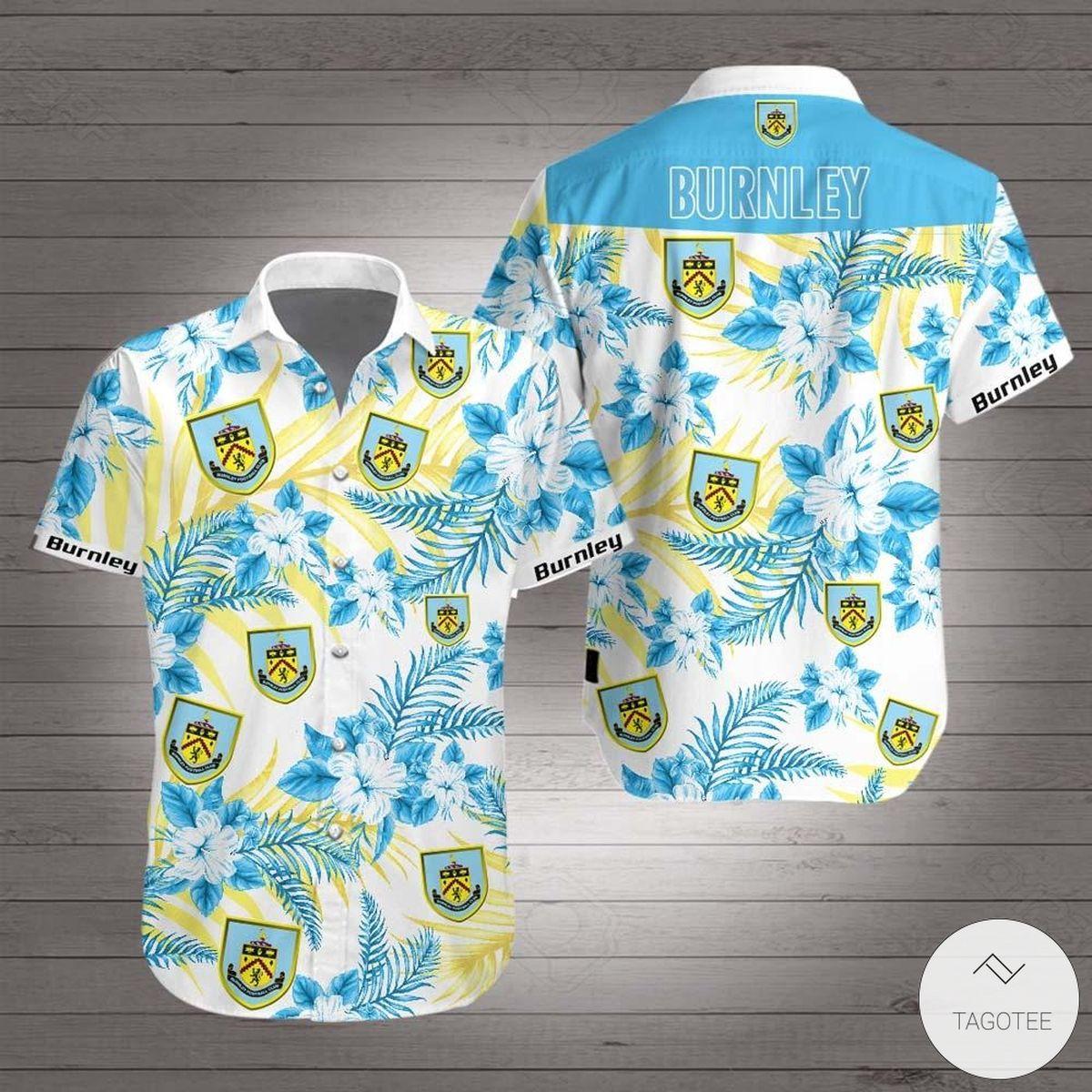 Burnley F.C Hawaiian Shirt