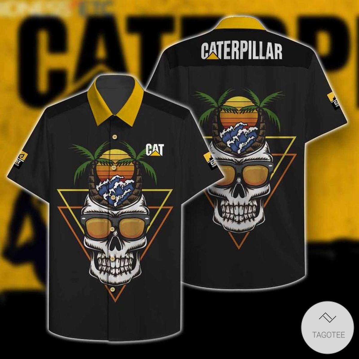 Caterpillar INC Hawaiian Shirt