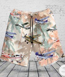 Cessna 182 Skylane Hawaiian Shirt, Beach Short z