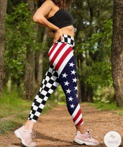 Checkered Flag Racing 3D Leggingsz