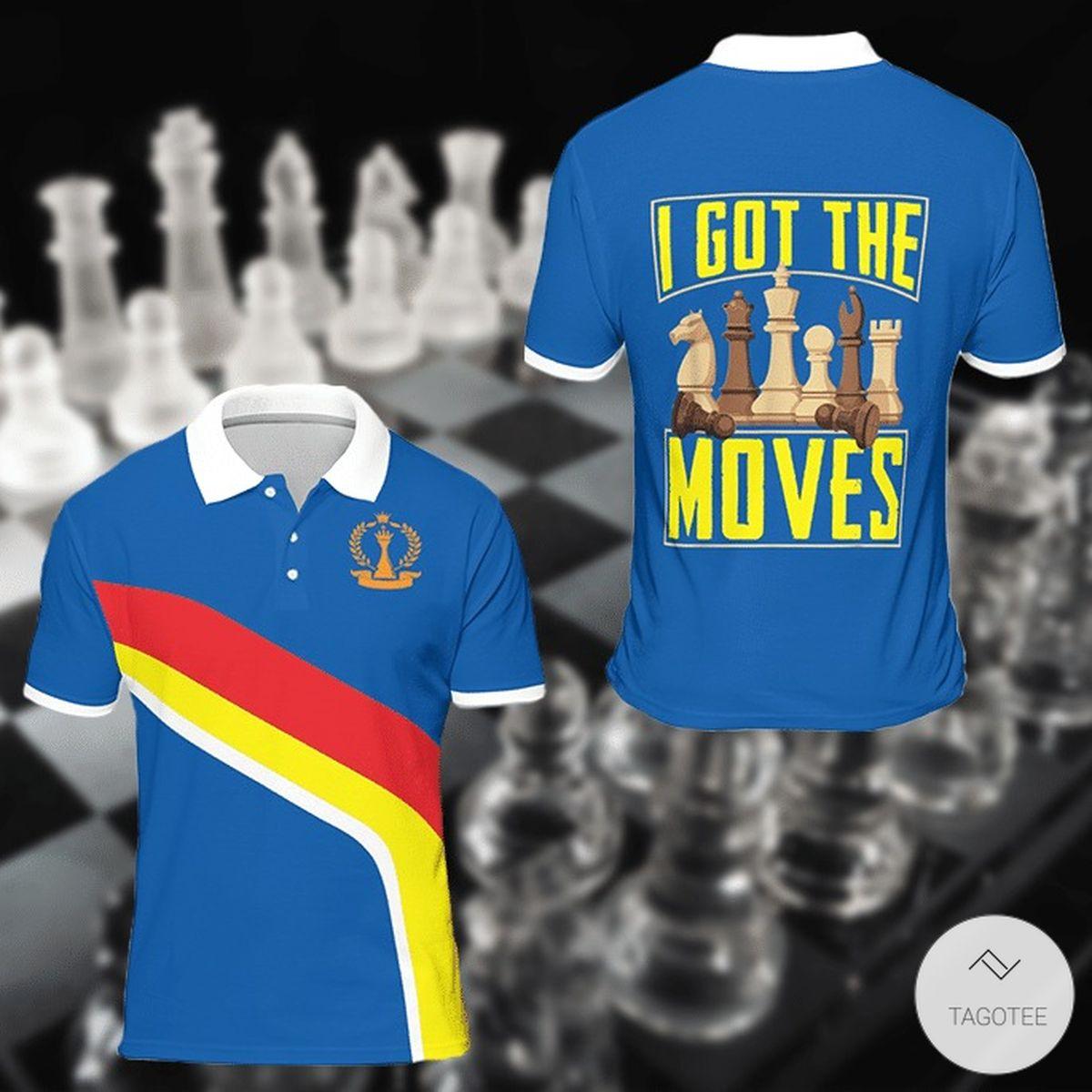 Chess I Got The Moves Polo Shirt 3