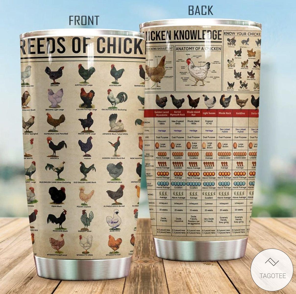 Chicken Knowledge Tumbler