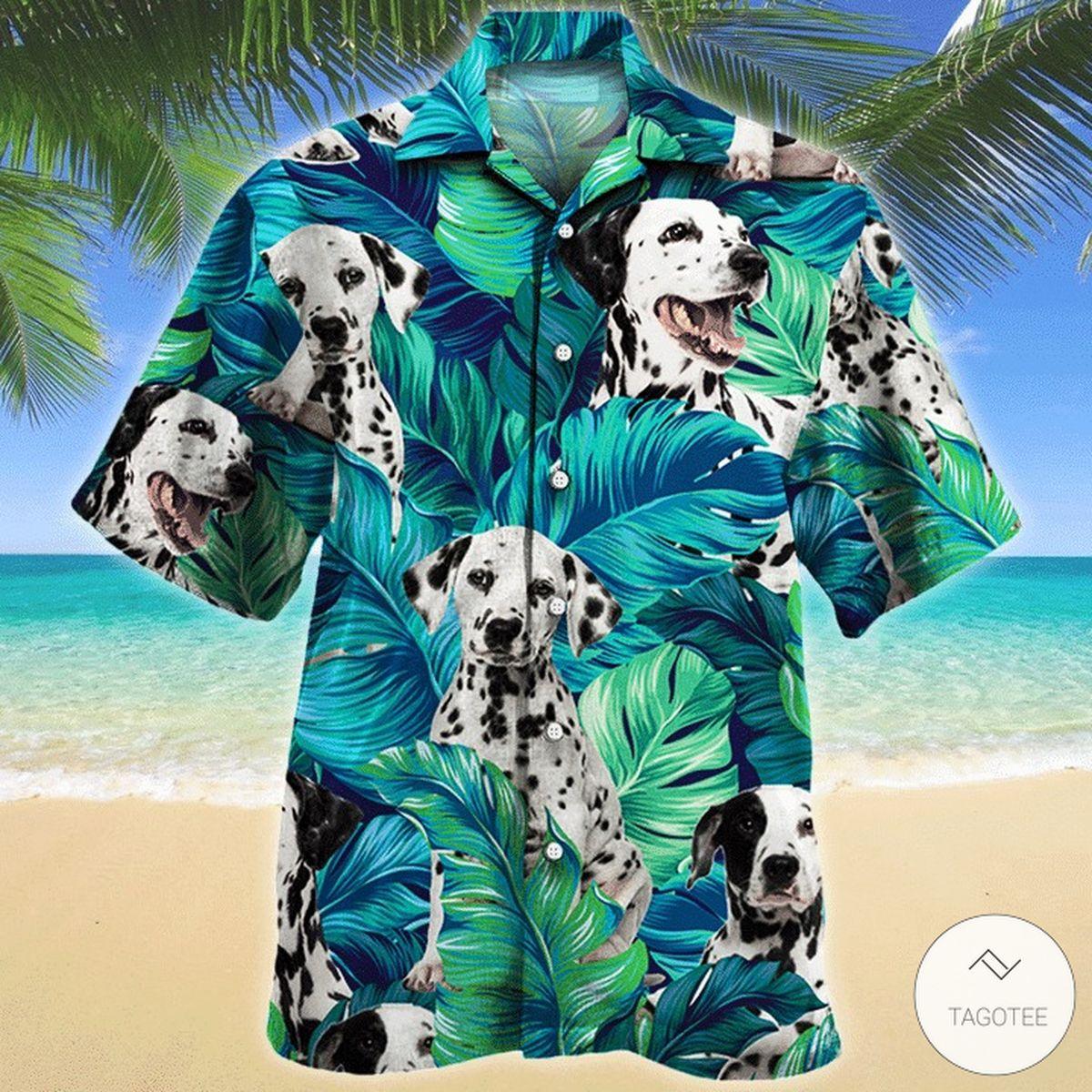 Dalmatian Dog Hawaiian Shirt