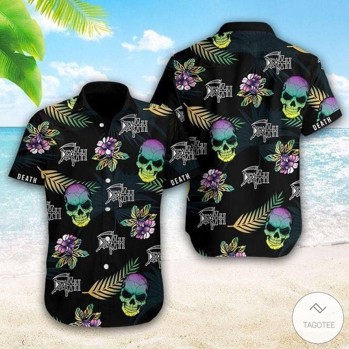 Death (metal band) Hawaiian Shirt