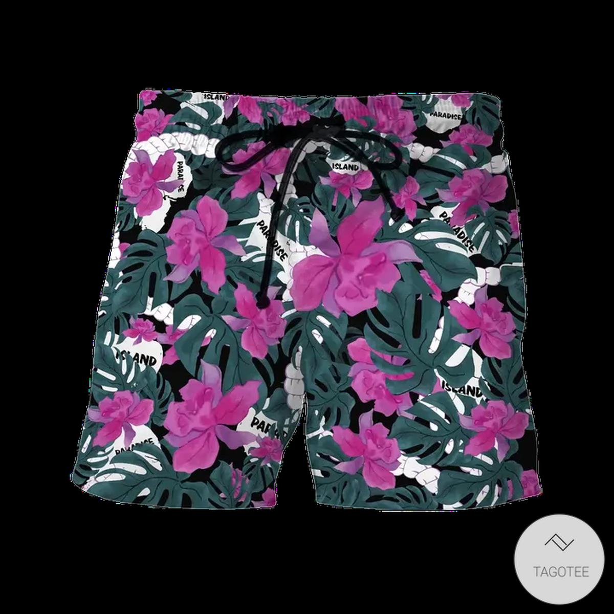 Dennis Nedry Jurassic Park Hawaiian Shirt, Beach Shortsz