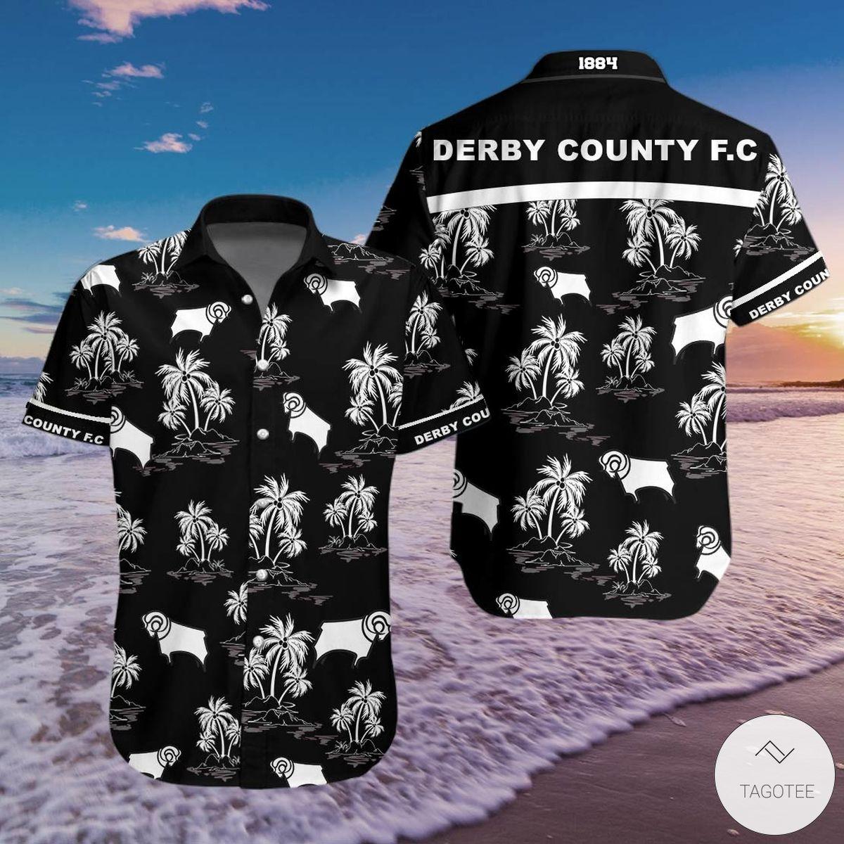 Present Derby County 1884 Hawaiian Shirt