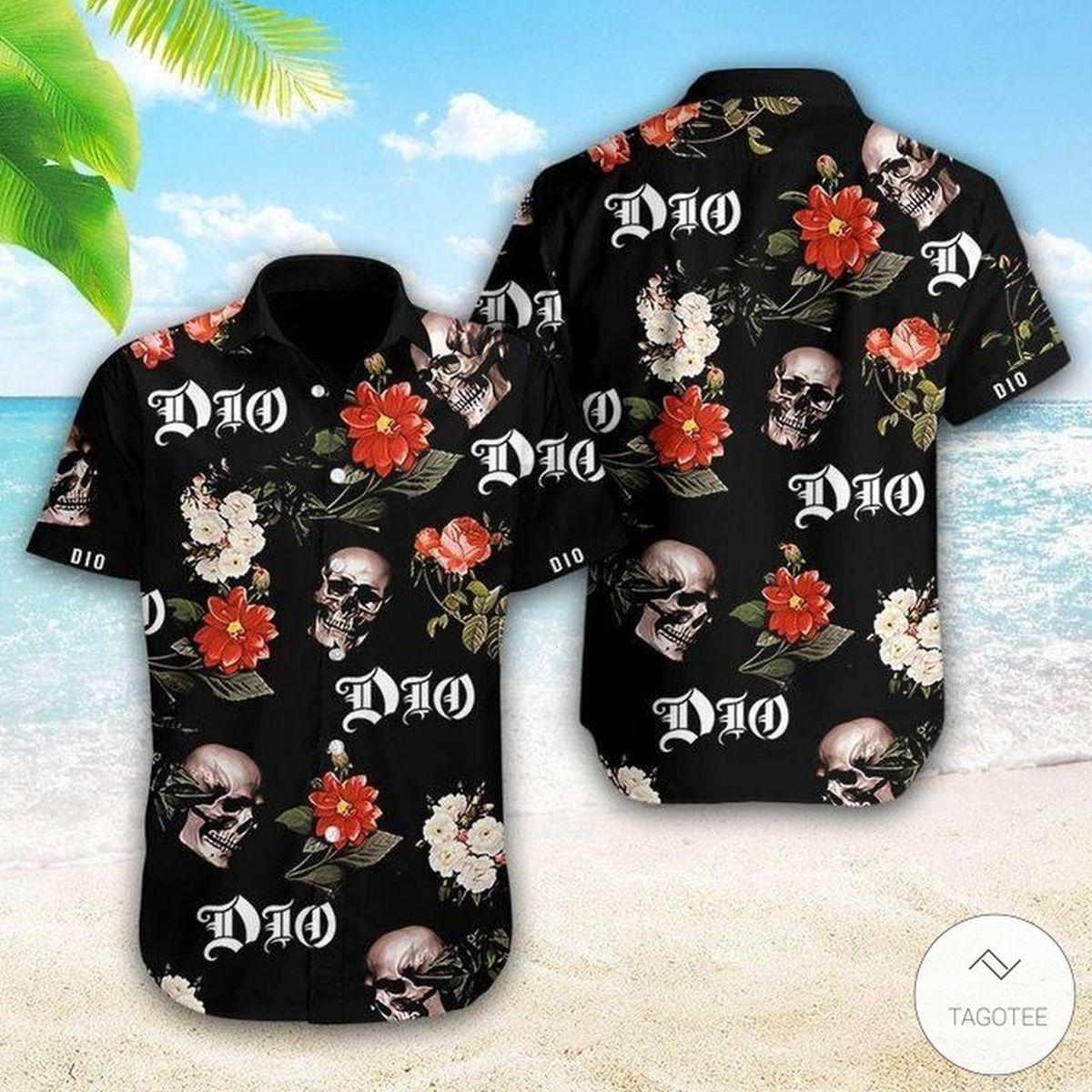 Dio (band) Hawaiian Shirt