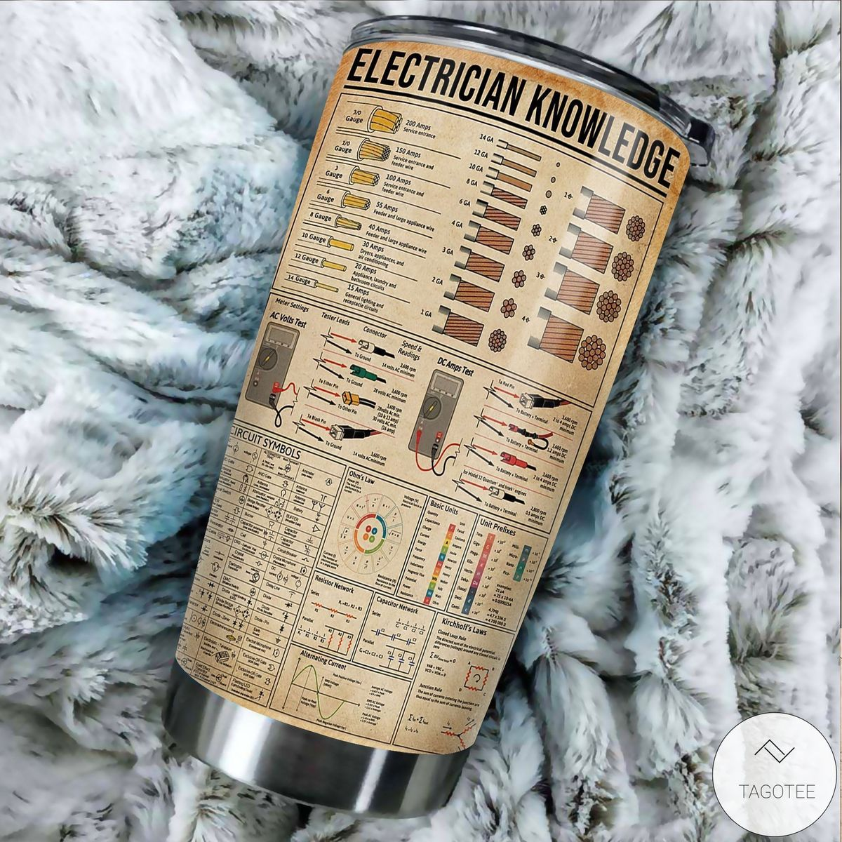 Electrician Knowledge Tumbler