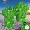 Elvis Blue Hawaii Green Version Hawaiian Shirt, Beach Shorts