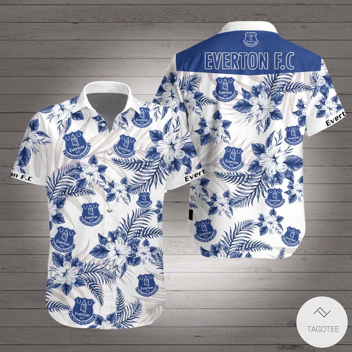Everton F.C Hawaiian Shirt