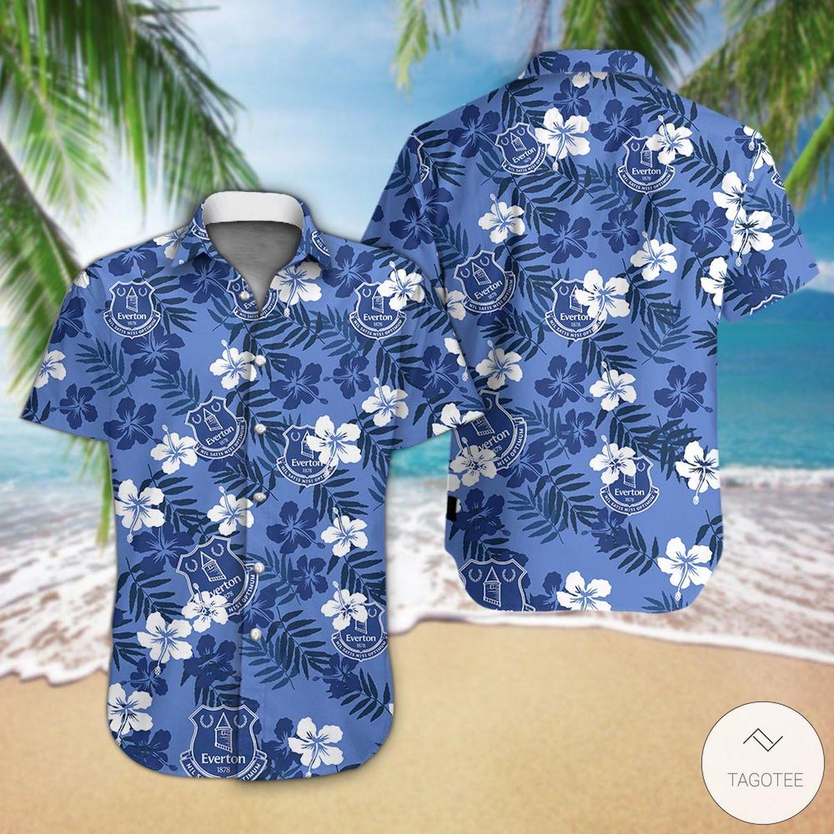 Everton F.C Hawaiian Shirtz