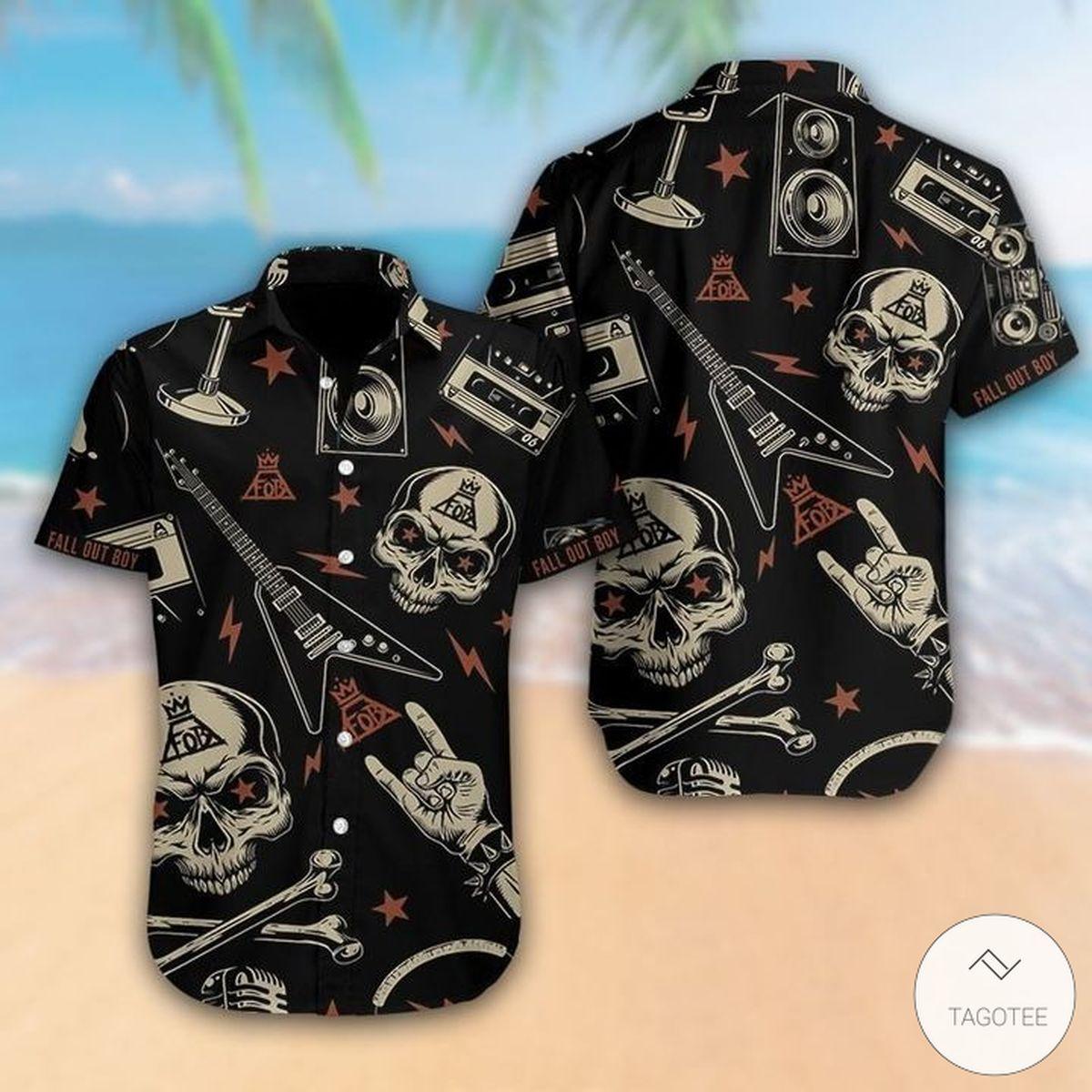 Fall Out Boy Hawaiian Shirt