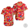 Fear and Loathing in Las Vegas Adult Dr. Gonzo Costume Hawaiian Shirt