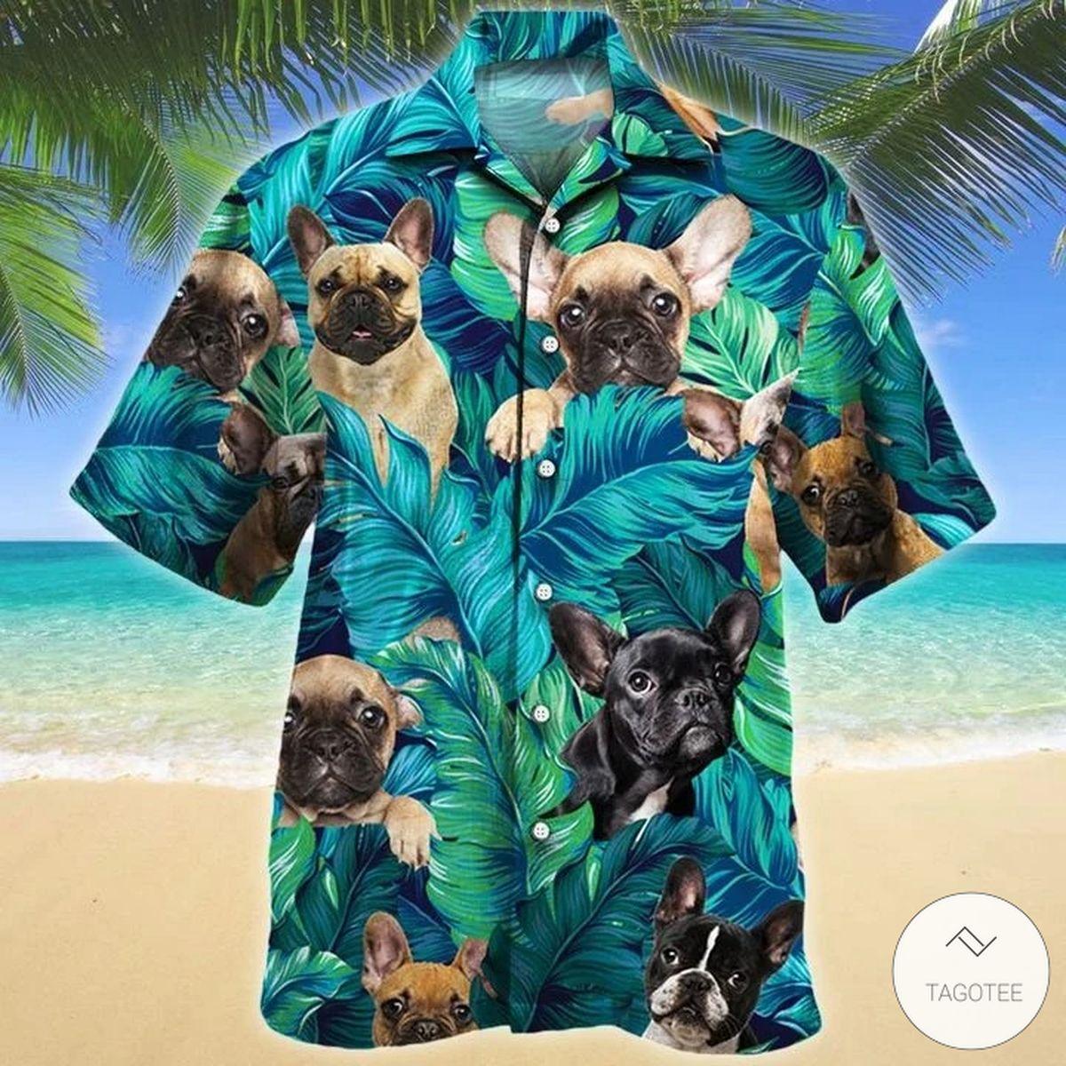 French Bulldog Dog Hawaiian Shirt