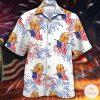 Golden Retriever Independence Day Hawaiian Shirt