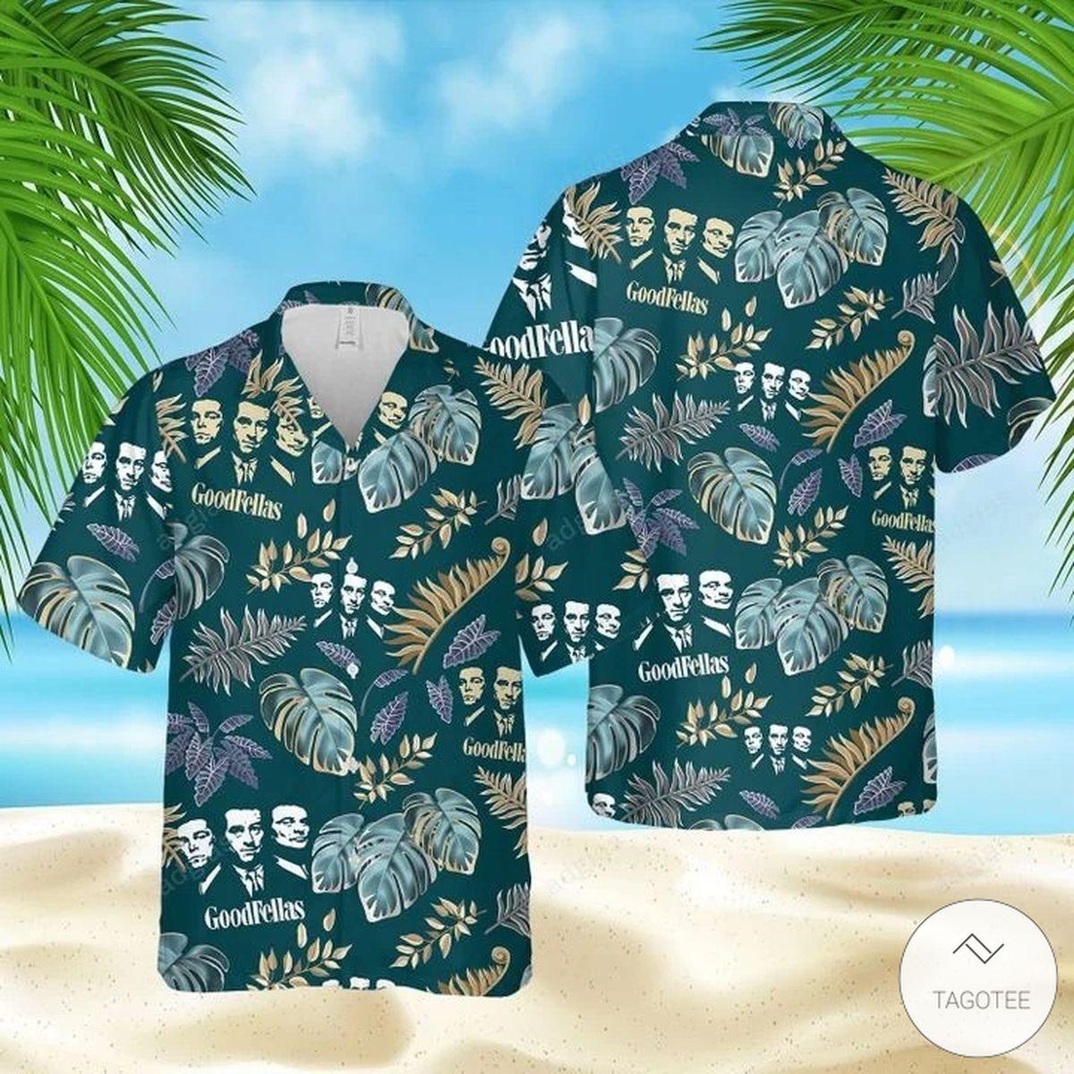 Goodfellas Hawaiian Shirt, Beach Shorts
