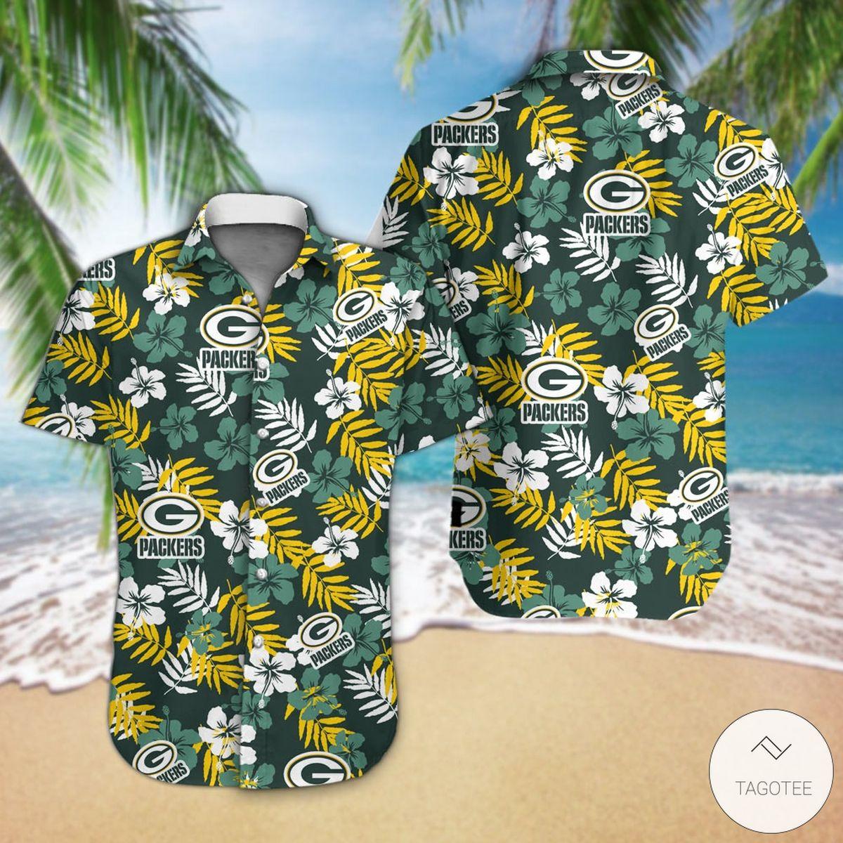 Green Bay Packers Hawaiian Shirt