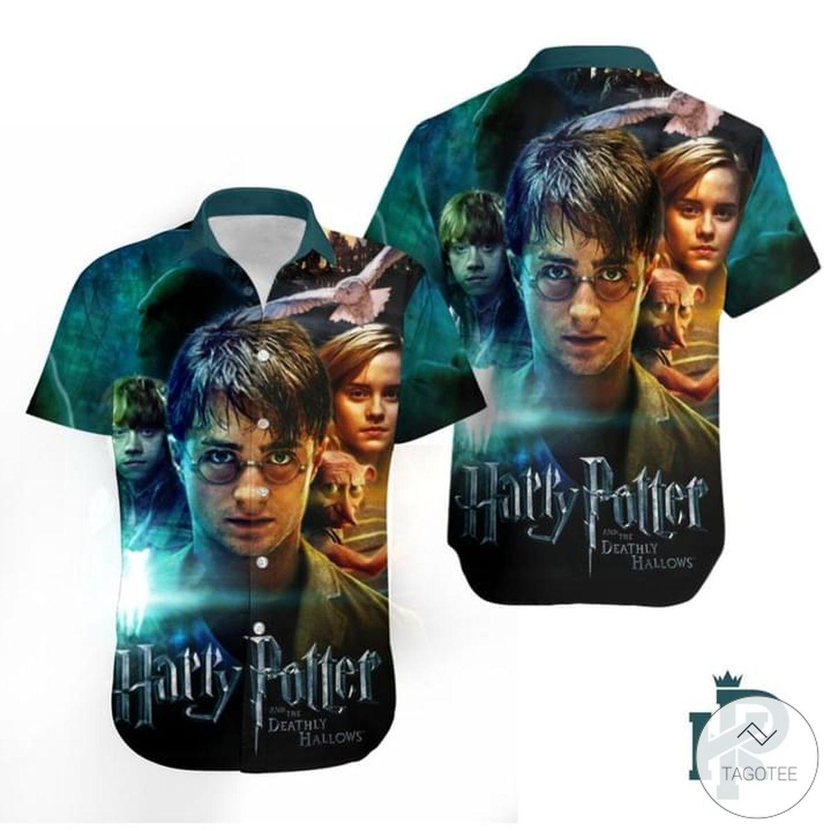 Harry Potter Hawaiian Shirt