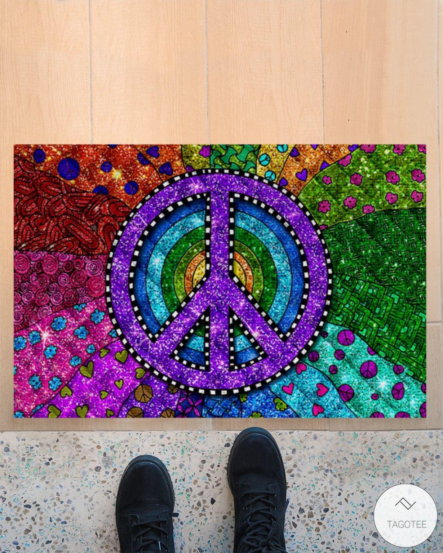 Hippie Trippy Doormat