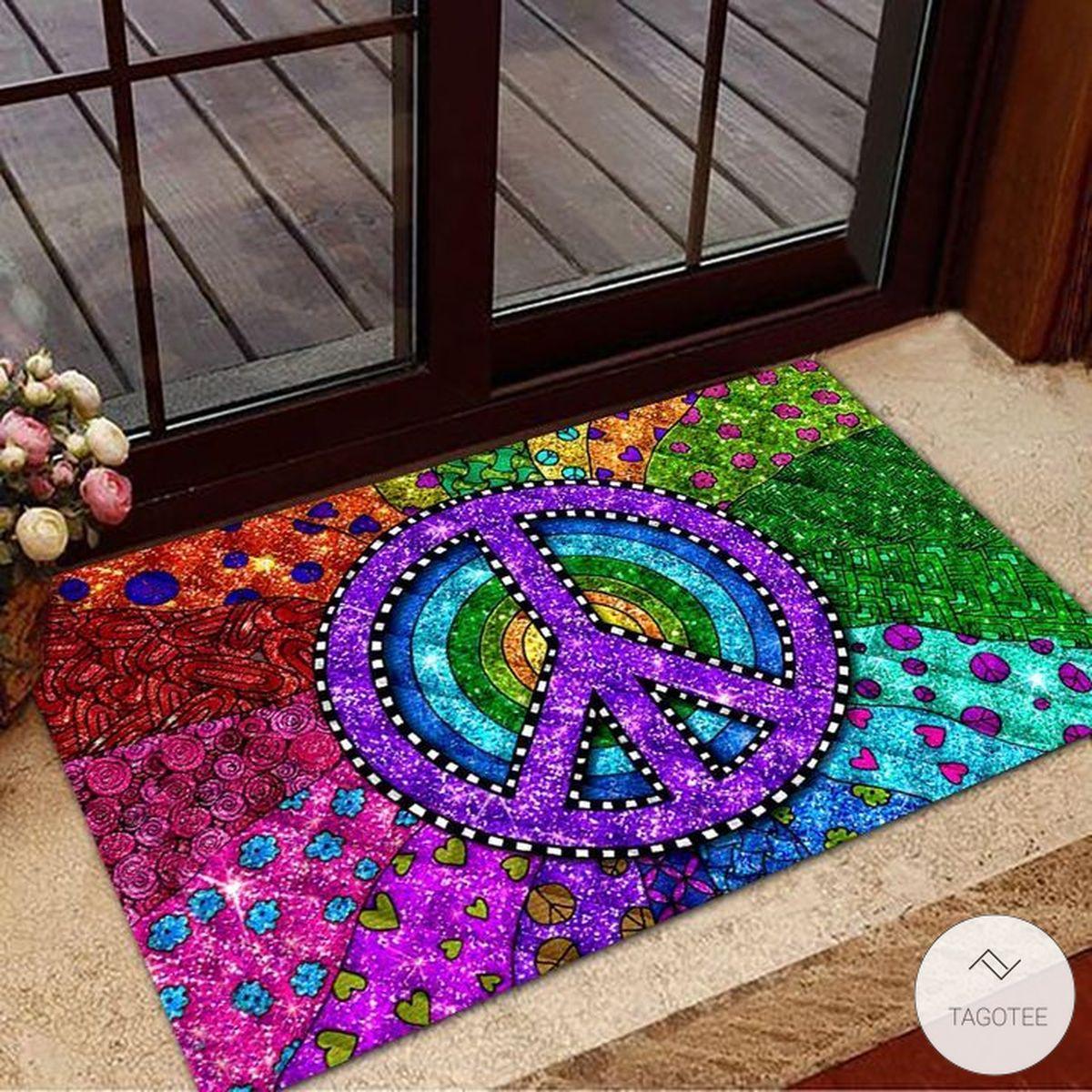 Hippie Trippy Doormatx