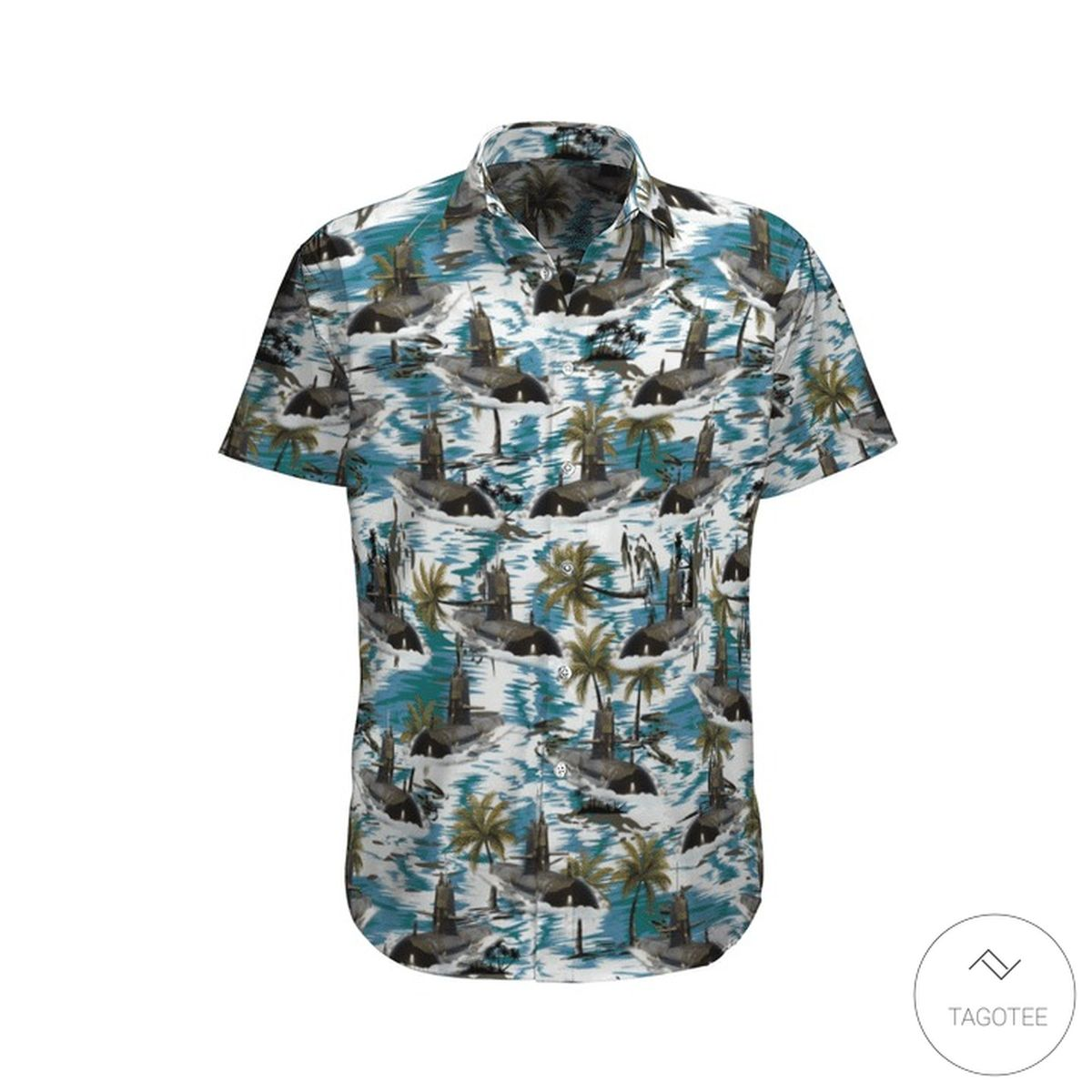 Hmas Rankin (SSG 78) Royal Australian Navy Hawaiian Shirt, Beach Shorts