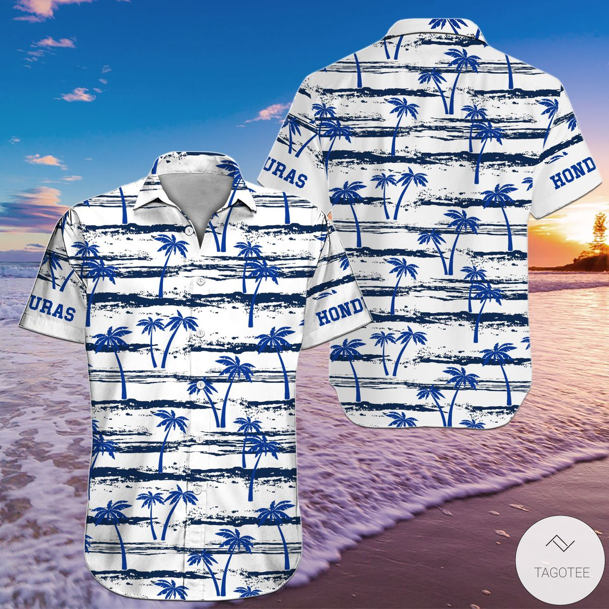 Honduras Hawaiian Shirt