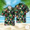 Horror Characters Hawaiian Shirt, Beach Shorts