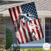 Horse American House Flag