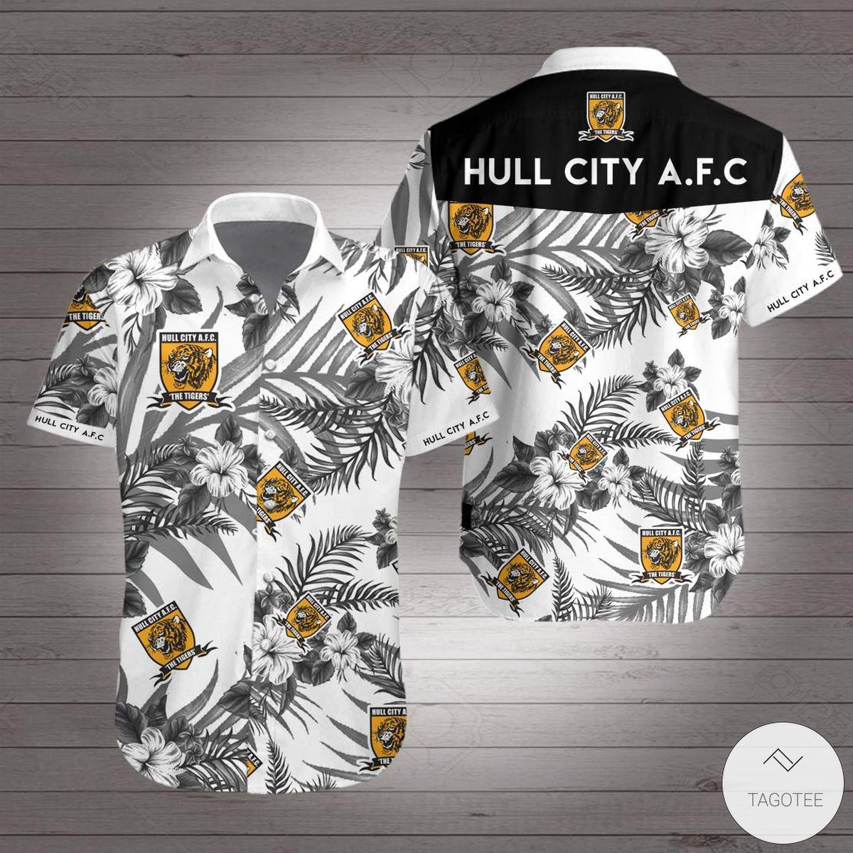 Hull City Hawaiian Shirt