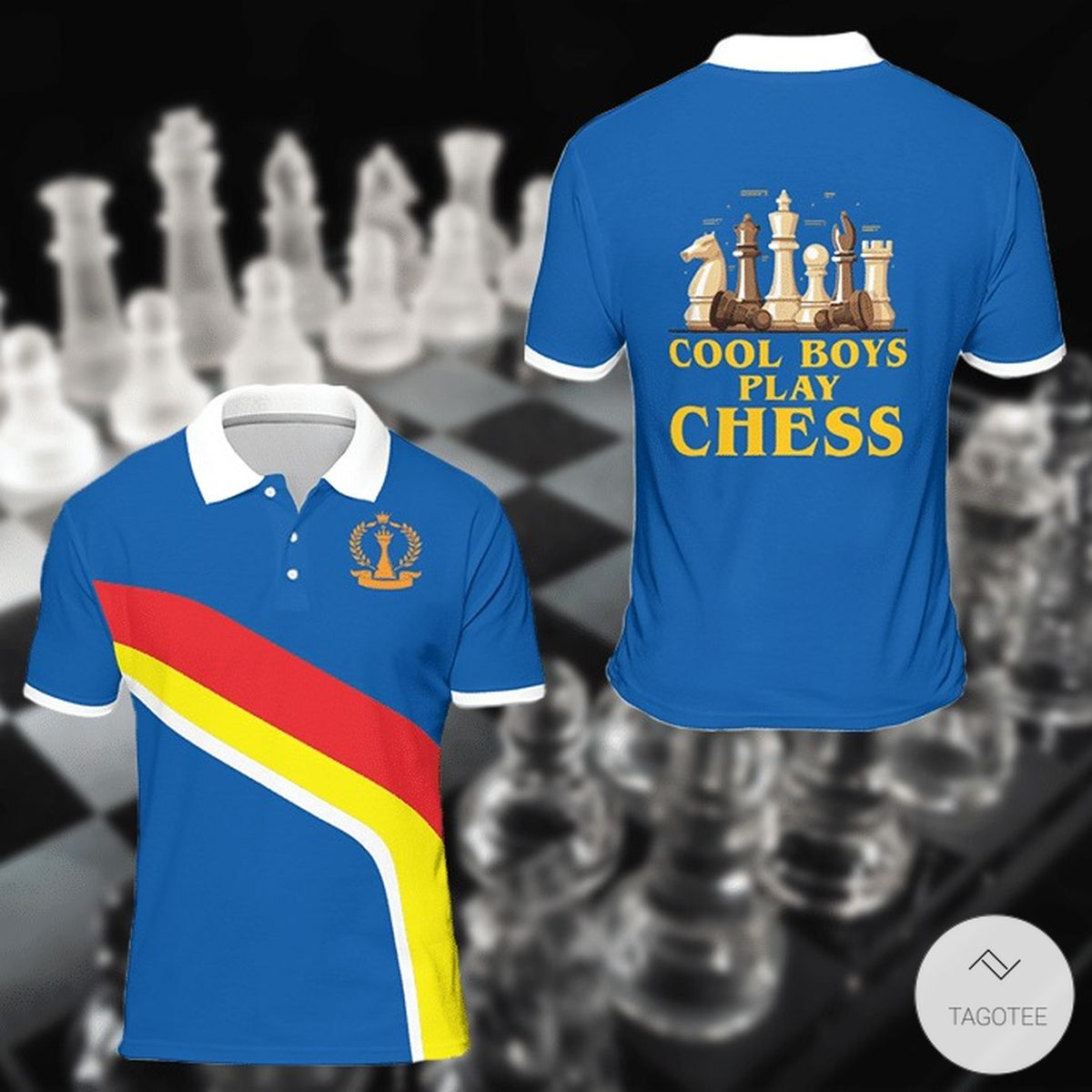 I Never Lose Either Win Or I Learn Chess Polo Shirt